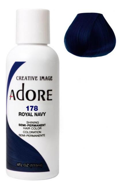 Краска для волос Adore Hair Color 118мл: 178 Royal Navy