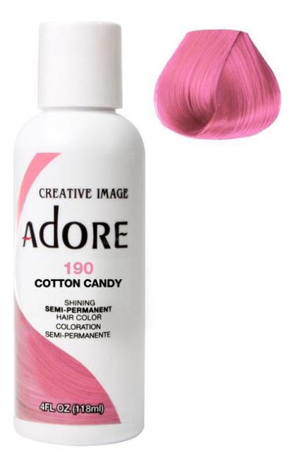 Краска для волос Adore Hair Color 118мл: 190 Cotton Candy