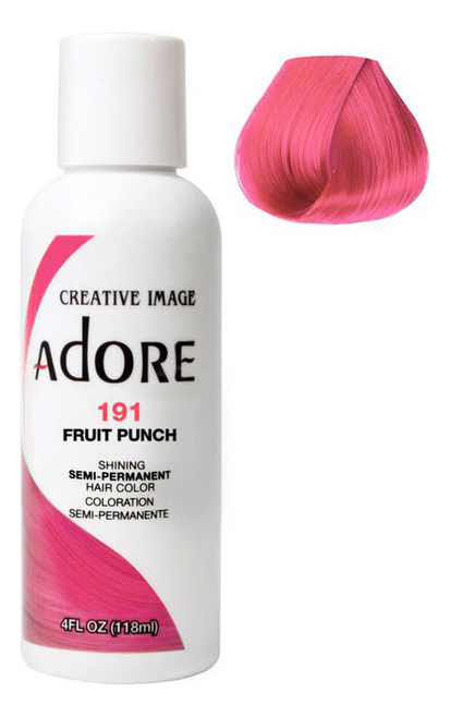 Краска для волос Adore Hair Color 118мл: 191 Fruit Punch