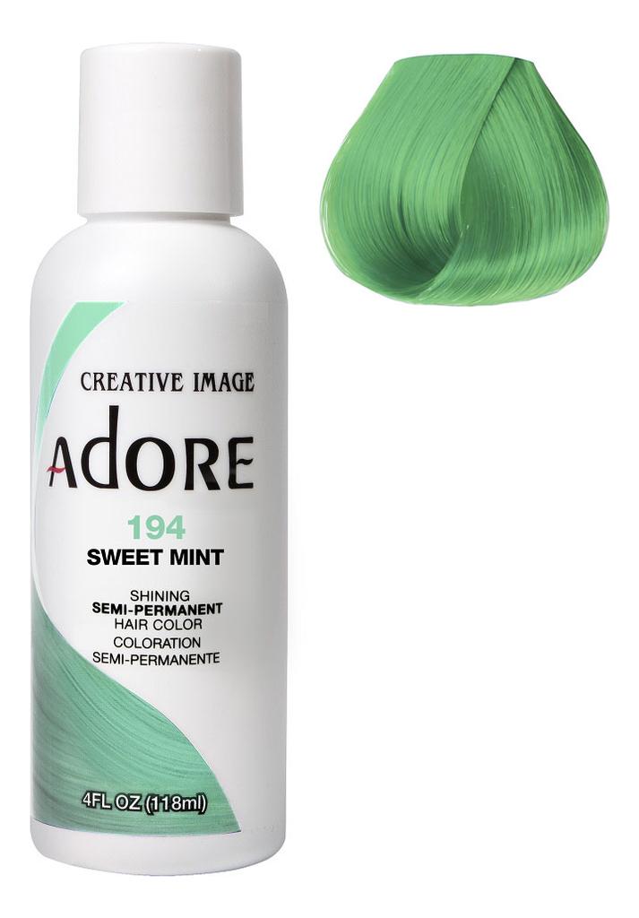 Краска для волос Adore Hair Color 118мл: 194 Sweet Mint