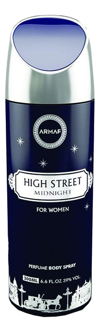 Купить Armaf High Street Midnight: спрей для тела 200мл