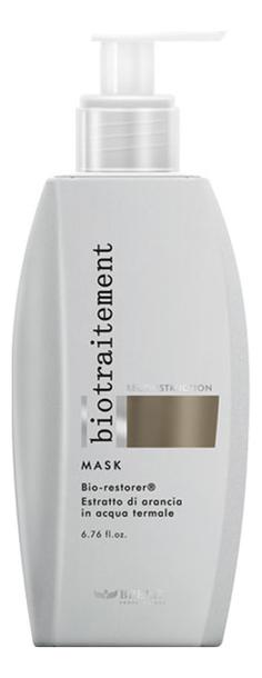 Фото - Маска для волос восстанавливающая Bio Traitement Reconstruction Mask 200мл маска для волос восстанавливающая bio traitement reconstruction mask 200мл