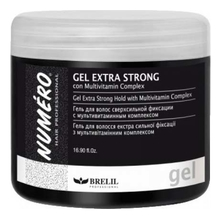 Brelil Professional Гель для волос Numero Gel Extra Strong Hold 500мл