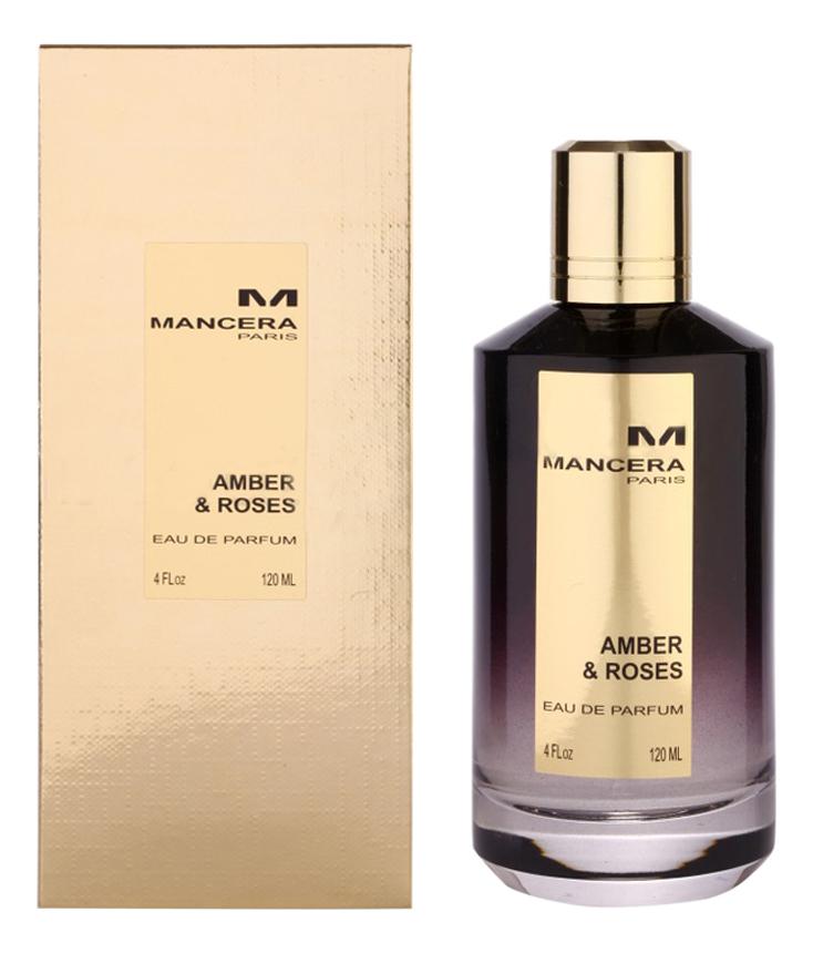 Mancera Amber Roses: парфюмерная вода 120мл