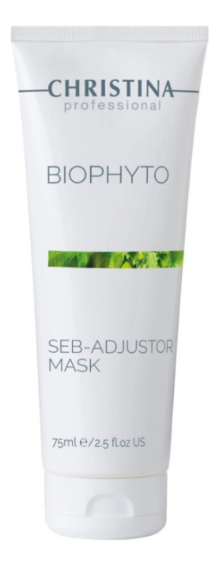 Купить Себорегулирующая маска для лица Bio Phyto Seb-Adjustor Mask 75мл, CHRISTINA