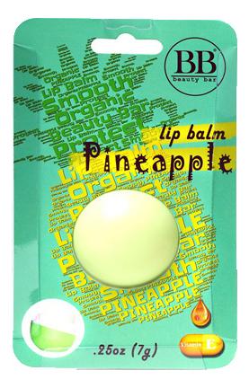 Бальзам для губ с ароматом ананаса Lip Balm Pineapple 7г: В блистере бальзам для губ lip balm заяц с ароматом зефира 6 5г