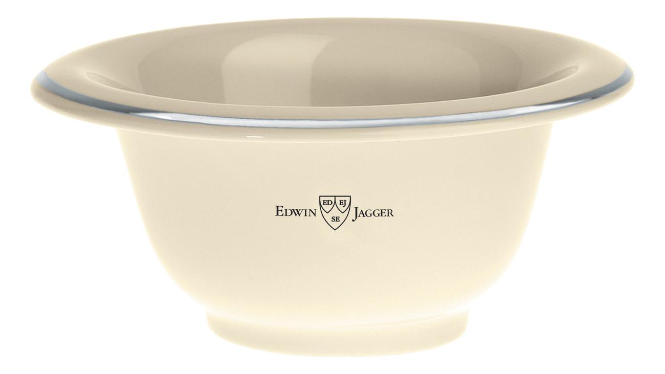 Edwin Jagger Чаша для бритья: Чаша для бритья (слоновая кость фарфор) панель с полками для шкафа анрекс jagger 2dg2s