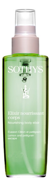 Эликсир для тела Elixir Nourrissant Corps 100мл (лимон и петигрейн) гель для тела elixir gelifie nourrissant corps крем гель 30мл