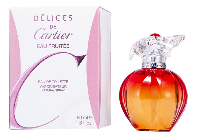 Delices De Cartier Eau Fruitee: туалетная вода 50мл pasha de cartier edition noire sport туалетная вода 50мл