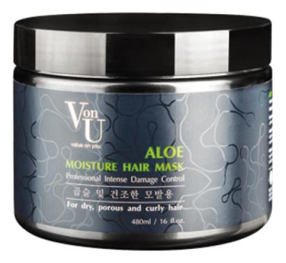 Маска для волос с экстрактом алоэ вера Aloe Moisture Hair Mask 480мл