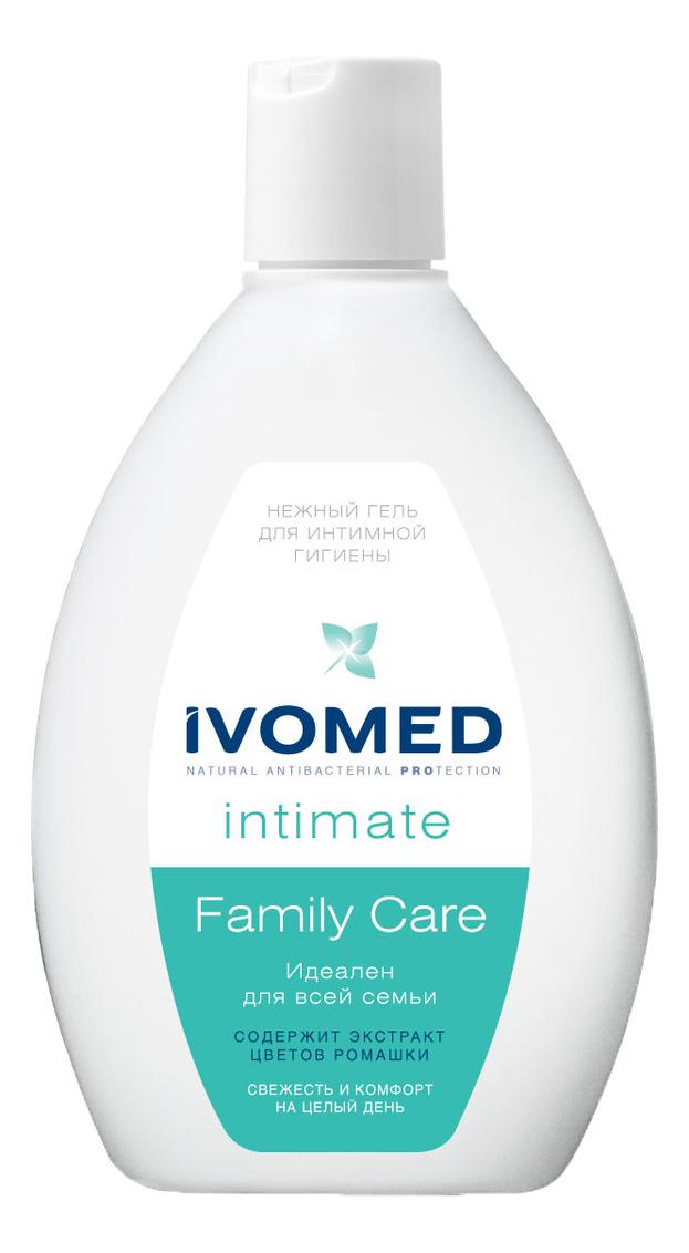 Купить Нежный гель для интимной гигиены с экстрактом ромашки Intimate Family Care 250мл, IVOMED