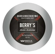 Brelil Professional Воск для бороды и усов Berry's Beard & Moustache Wax 25мл