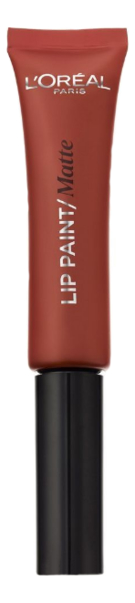 Жидкая матовая помада для губ Infaillible Lip Paint Matte 8мл: 213 Пряный шоколад помада для губ milky lips 2 8мл l209 toffee beige