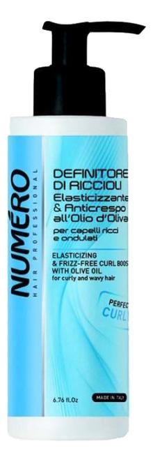 Купить Гель для моделирования волос с оливковым маслом Numero Elasticizing & Freeze-Free 200мл, Гель для моделирования волос с оливковым маслом Numero Elasticizing & Freeze-Free 200мл, Brelil Professional