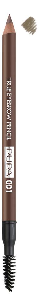 Фото - Карандаш для бровей True Eyebrow Pencil 1,08г: 001 Blonde pupa карандаш true eyebrow pencil оттенок 003 dark brown