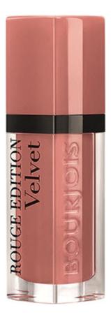 Бархатный флюид для губ Rouge Edition Velvet 7,7мл: 28 Red Nude фото