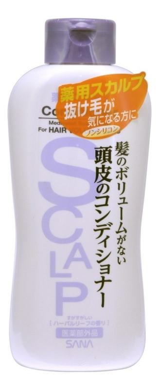 Купить Кондиционер для объема волос и чувствительной кожи головы Scalp Conditioner Delicate 250мл, SANA
