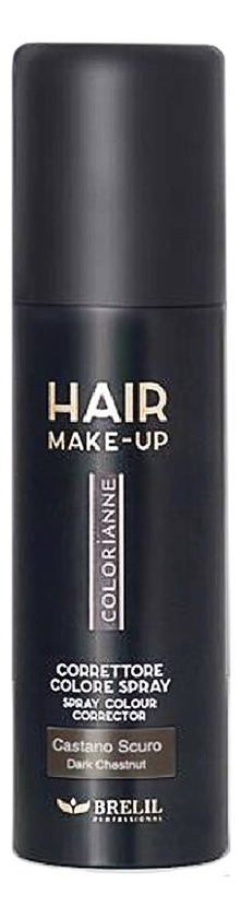 Купить Спрей-макияж для волос Colorianne Hair Make-Up 75мл: Dark Brown, Brelil Professional