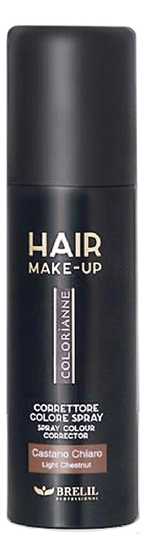 Купить Спрей-макияж для волос Colorianne Hair Make-Up 75мл: Ligth Brown, Brelil Professional