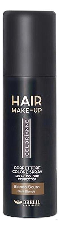 Купить Спрей-макияж для волос Colorianne Hair Make-Up 75мл: Dark Blonde, Brelil Professional