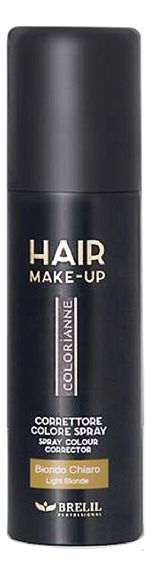 Купить Спрей-макияж для волос Colorianne Hair Make-Up 75мл: Ligth Blonde, Brelil Professional