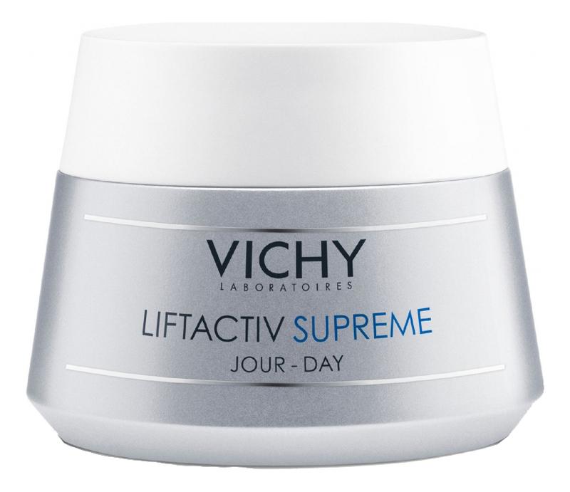 Крем для лица против морщин для нормальной и комбинированной кожи Liftactiv Supreme 50мл крем vichy liftactiv supreme ночной 50 мл