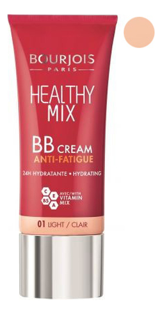 BB-крем для лица Healthy Mix 30мл: 01 Light bb крем bourjois healthy mix bb cream anti fatigue 03 цвет 03 dark fonce variant hex name be8866