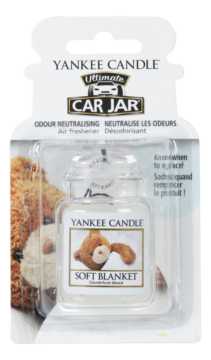 Гелевый ароматизатор для автомобиля Soft Blanket