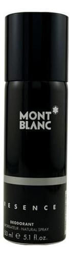 Mont Blanc Presence Man: дезодорант 150мл mont blanc femme individuelle soul