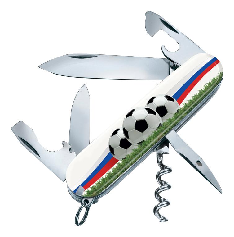 цена на Нож перочинный Spartan Футбольное поле 91мм 12 функций