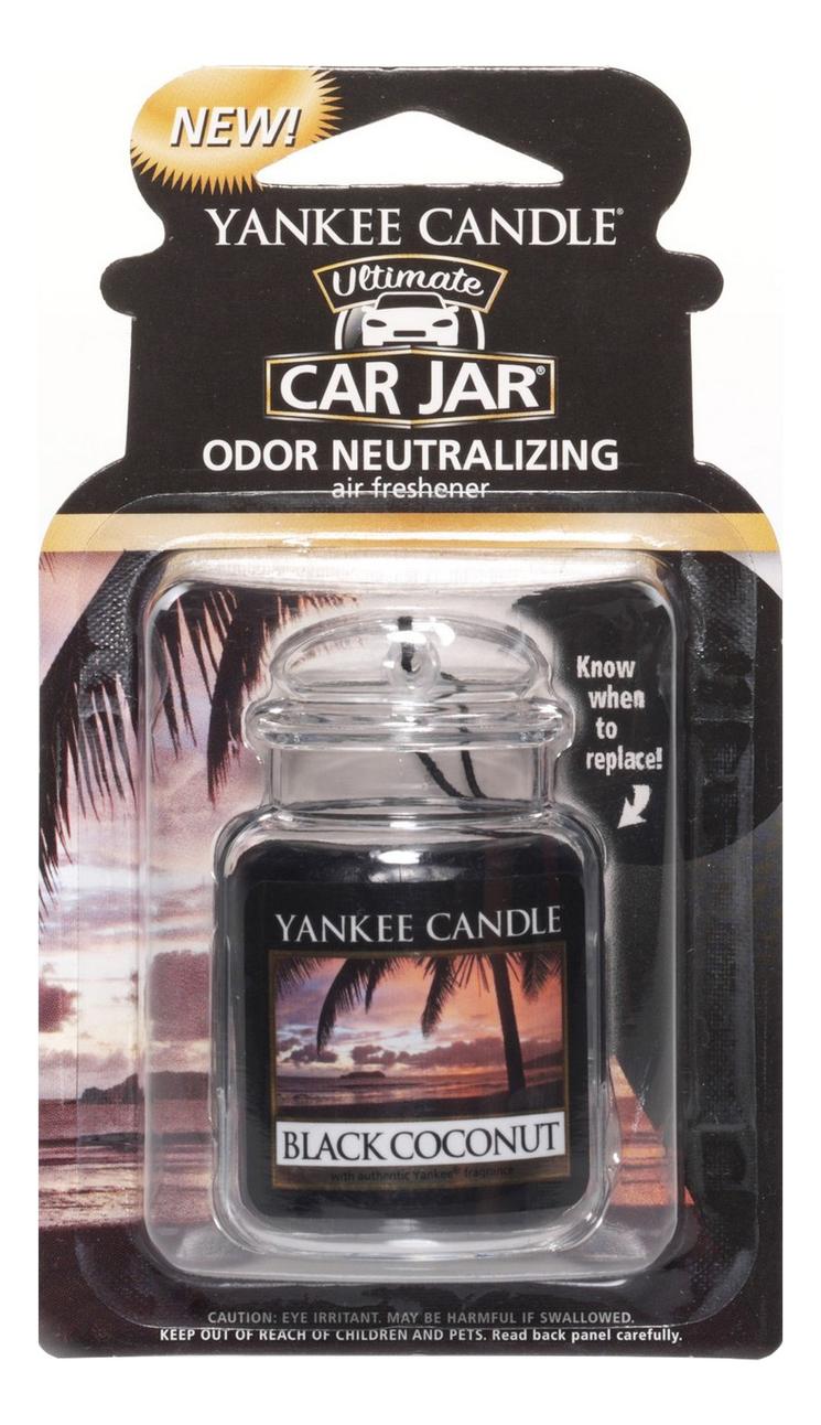 Гелевый ароматизатор для автомобиля Black Coconut