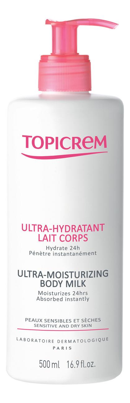 Купить Ультра-увлажняющее молочко для тела Les Essentiels Ultra-Hydratant Lait Corps: Молочко 500мл, TOPICREM