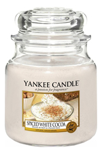 Yankee Candle Ароматическая свеча Spiced White Cocoa