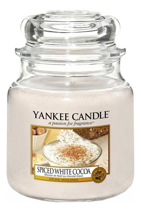 Ароматическая свеча Spiced White Cocoa: Свеча 104г