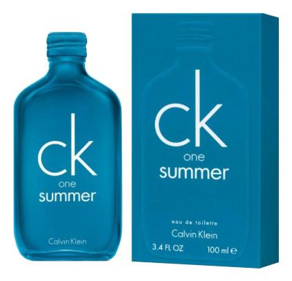 Calvin Klein CK One Summer 2018: туалетная вода 100мл calvin klein ck one summer 2019 туалетная вода 100мл тестер