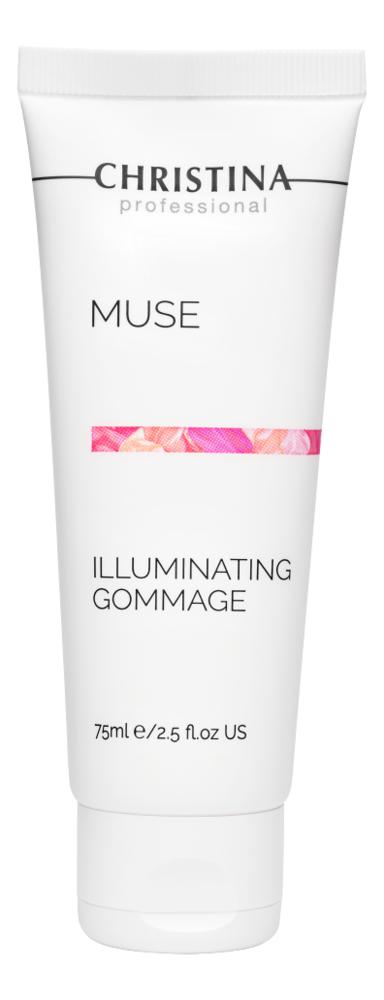 Отшелушивающий гоммаж для лица Muse Illuminating Gommage 75мл гоммаж christina отзывы
