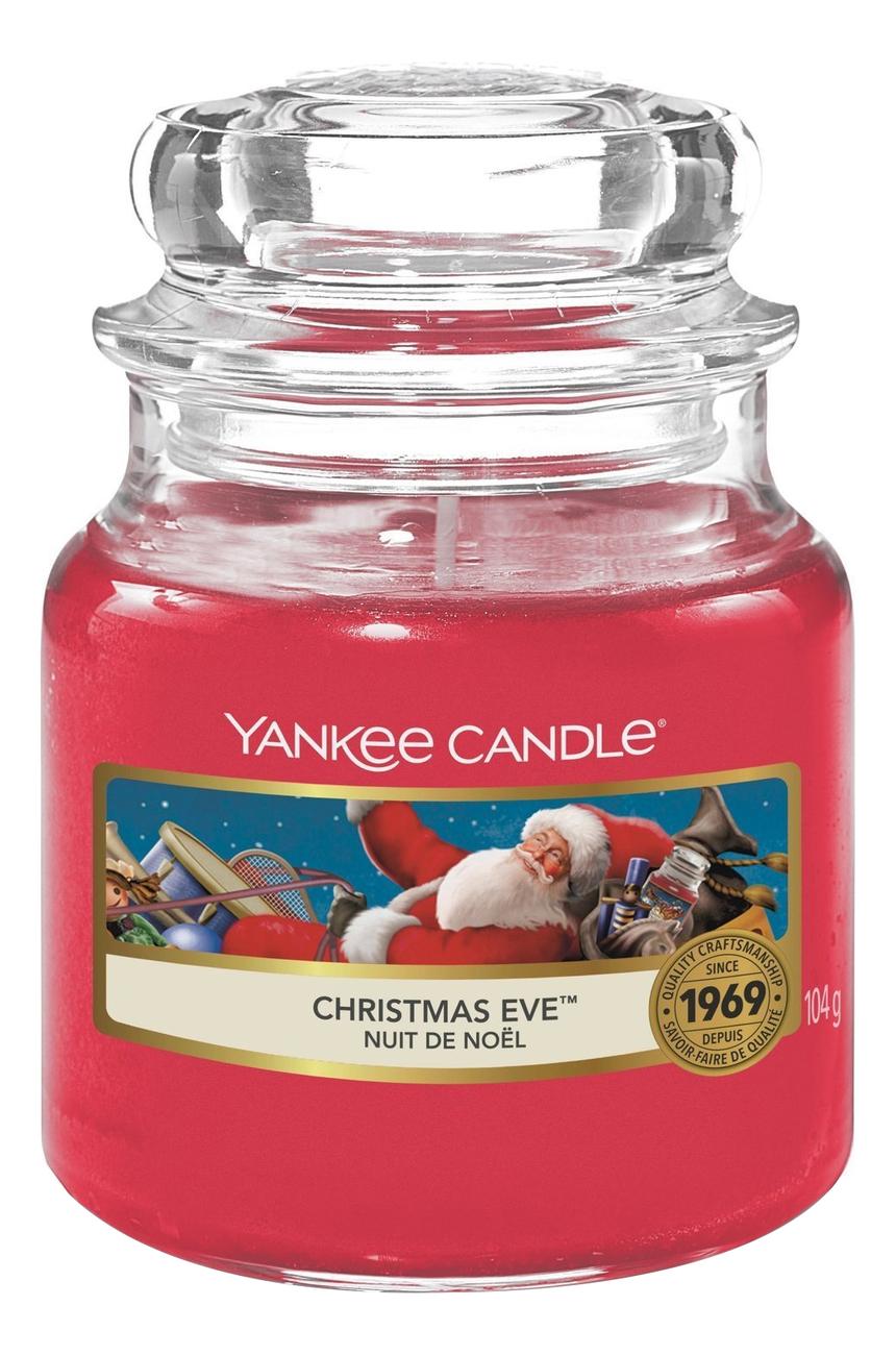 Купить Ароматическая свеча Christmas Eve: Свеча 104г, Yankee Candle