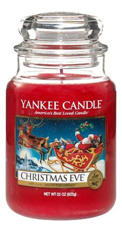 Купить Ароматическая свеча Christmas Eve: Свеча 623г, Yankee Candle
