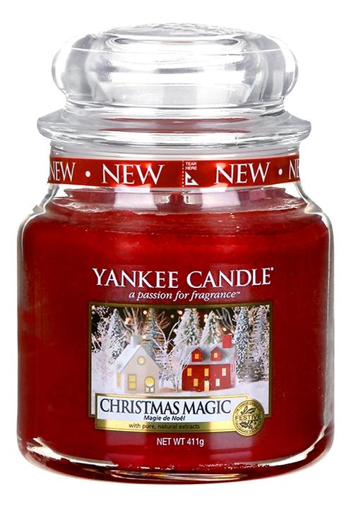 Купить Ароматическая свеча Christmas Magic: Свеча 411г, Yankee Candle