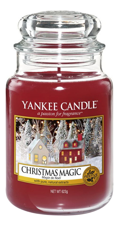 Ароматическая свеча Christmas Magic: Свеча 623г фото