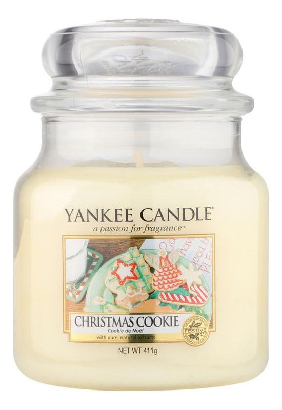 Ароматическая свеча Christmas Cookie: Свеча 411г, Yankee Candle  - Купить