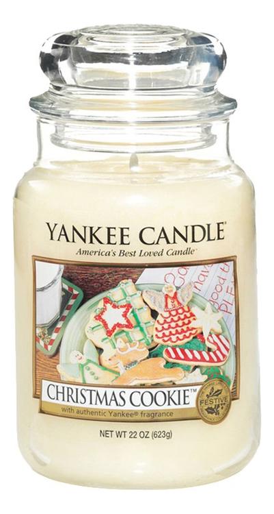 Купить Ароматическая свеча Christmas Cookie: Свеча 623г, Yankee Candle