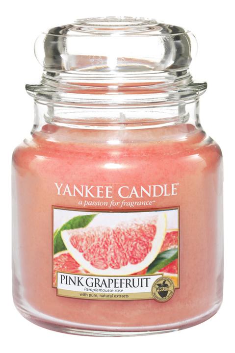 Ароматическая свеча Pink Grapefruit: Свеча 411г