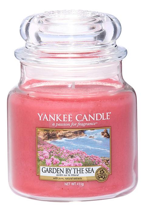 Купить Ароматическая свеча Garden By The Sea: Свеча 411г, Yankee Candle