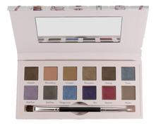 Cargo Cosmetics Палетка теней для век Eyeshadow Palette Suited To A Tea 15,24г