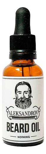 Масло для бороды Sunrise Beard Oil Nothing: Масло 30мл масло для бороды sunrise beard oil nothing масло 30мл