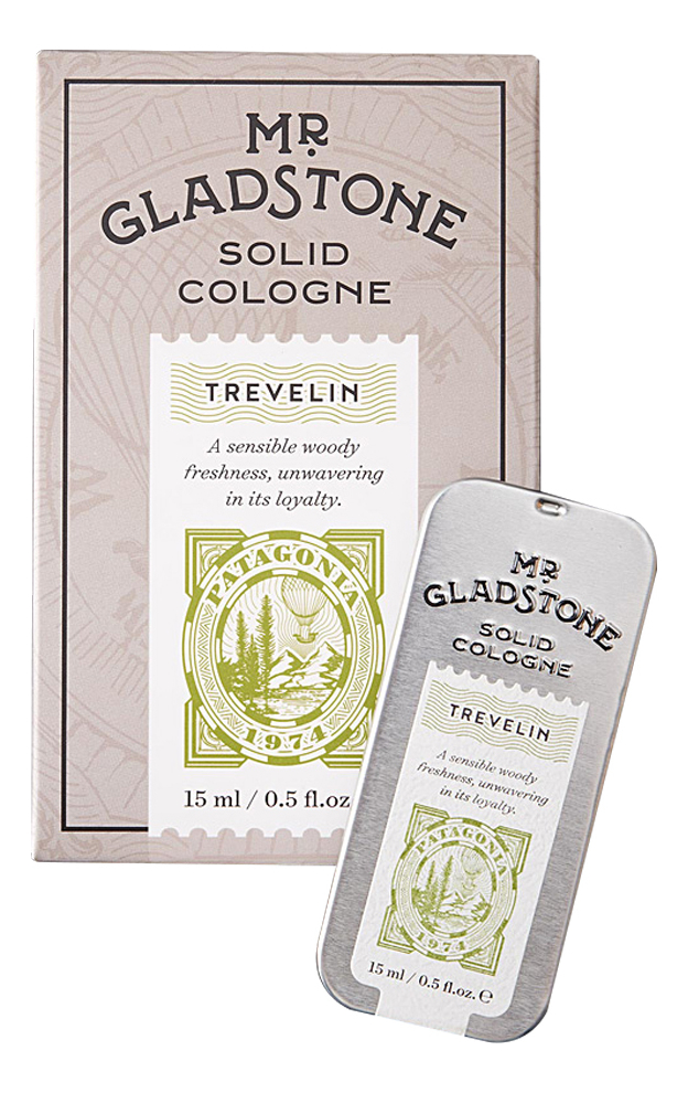 Rockwell Razors Mr. Gladstone Trevelin: твердый одеколон 15мл