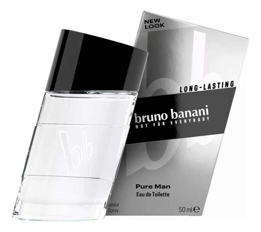 Bruno Banani Pure Man: туалетная вода 50мл