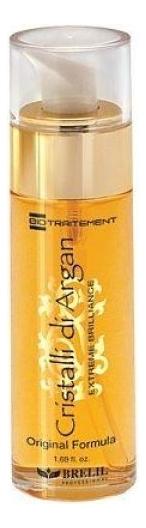 Купить Однофазное средство для волос с маслом Аргании Bio Traitement Argan Oil Crystals 50мл, Brelil Professional