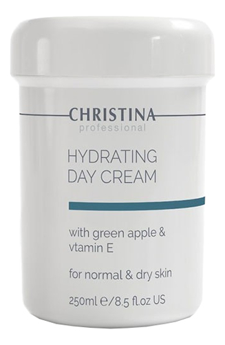 Увлажняющий дневной крем для лица Hydrating Day Cream Green Apple + Vitamin E 250мл